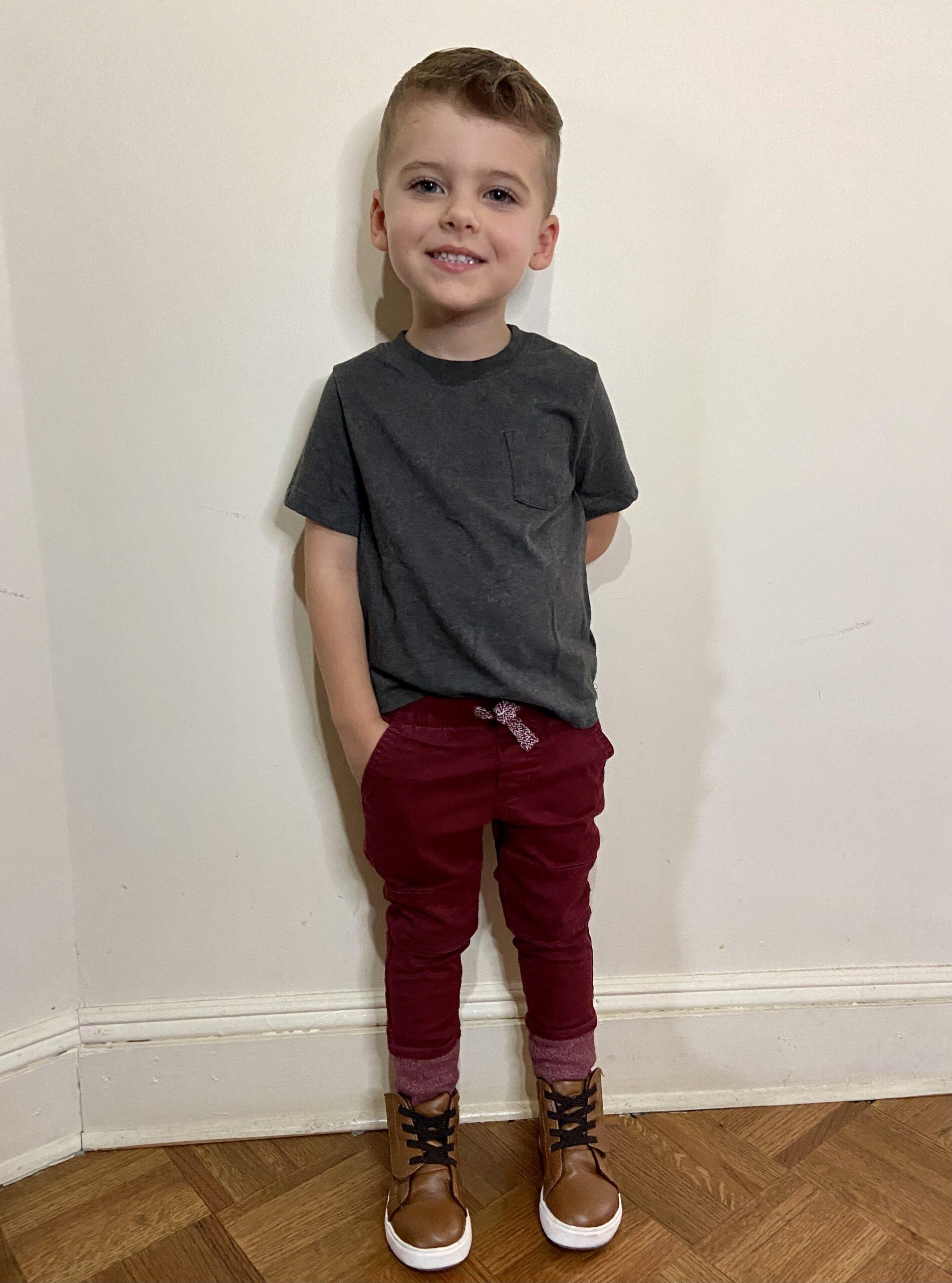 Skyler Hesington September 2021 - 3.5 years old