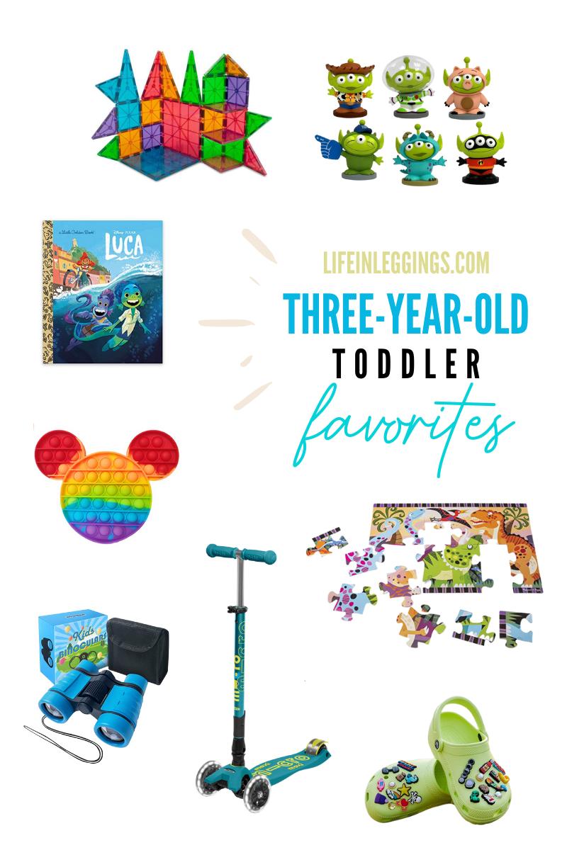 Toddler Favorites - three years old