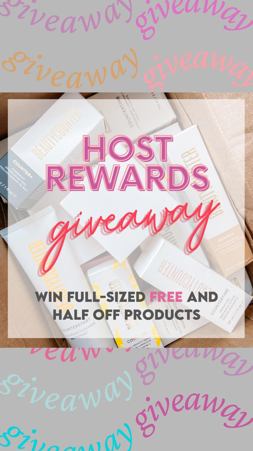 host rewards giveaway