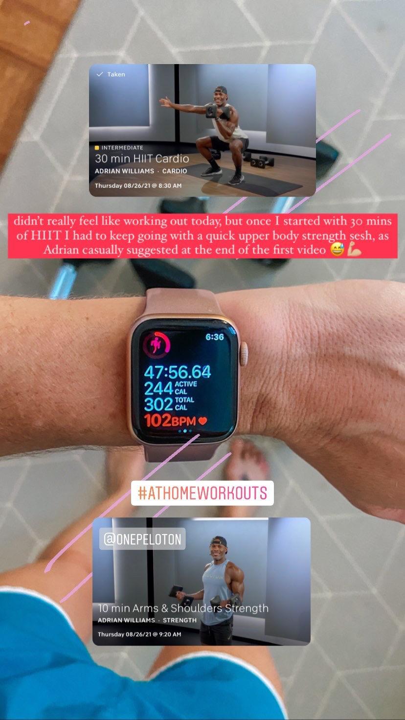 peloton app workouts