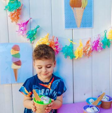 skyler ice cream party