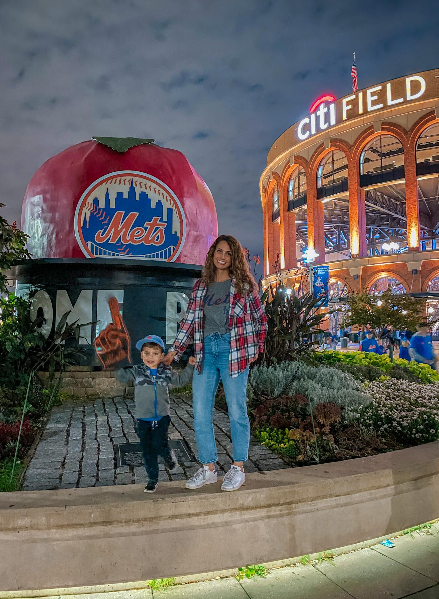 Heather and Skyler Mets Game
